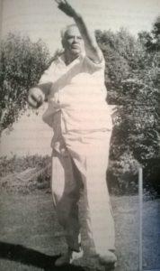 Sir Patrick Moore at Selsey Cricket Club